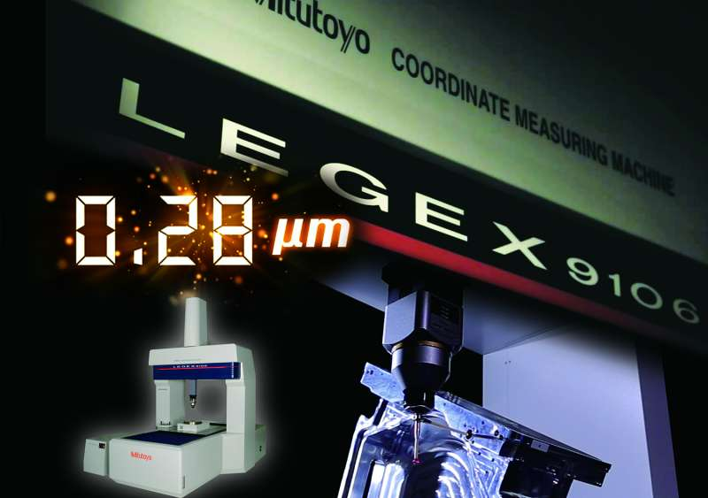 Mitutoyo's new Legex ultra high accuracy CMM