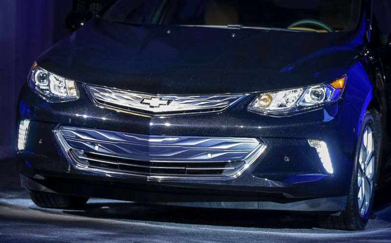 Next generation Chevy Volt from GM
