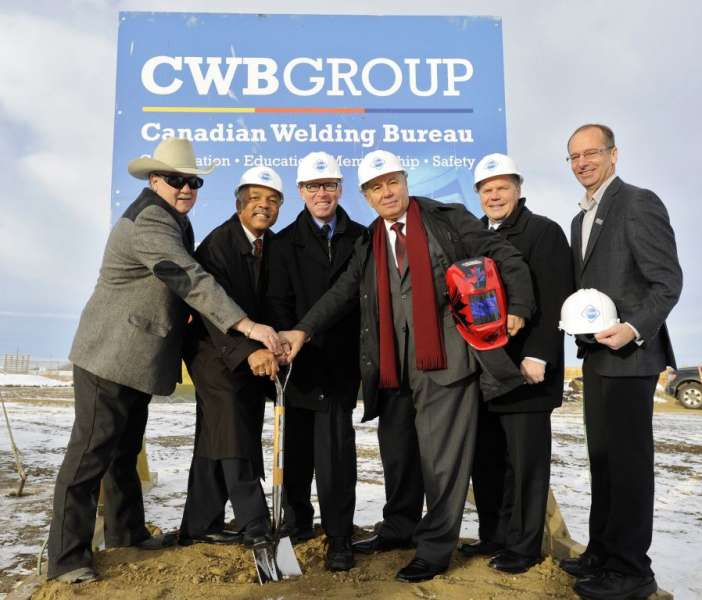 CWB ground breaking ceremony for new Western Canadian facility