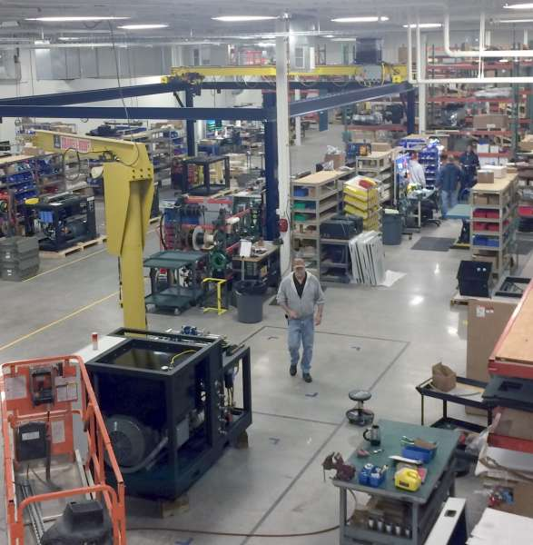 Hypertherm's new waterjet facility