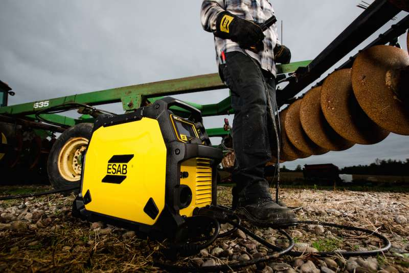 ESAB's Rebel welding system