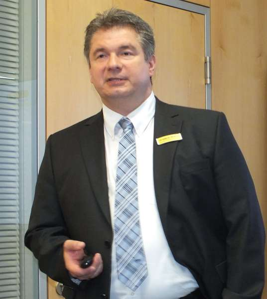 Andreas Vollmer sales and marketing director and memberof the board of directors for Horn