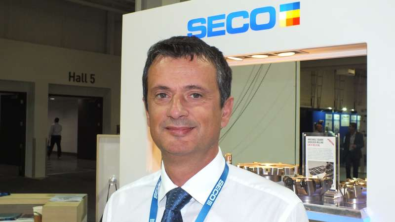 Branko Hohnec is the new general manager for Canada for Seco Tools