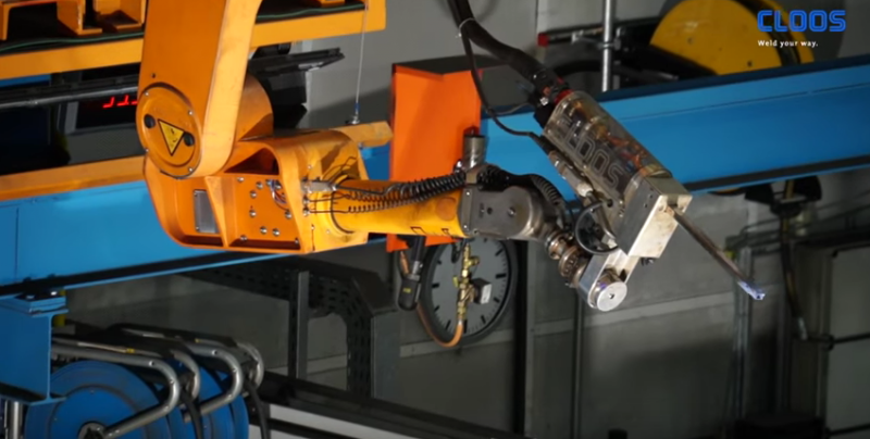 Cloos Robotic Welding technique for thick plate welding