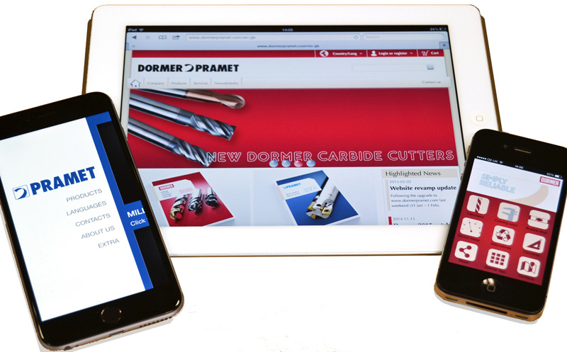 Dormer Pramet launches new corporate web site