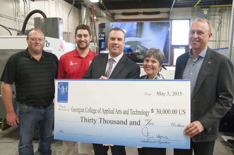 Haas Donates 80 000 For Skills Training In Canada Industry Update