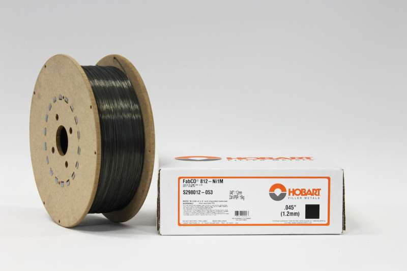 Hobart FabCO 812 Ni1M flux-cored wire