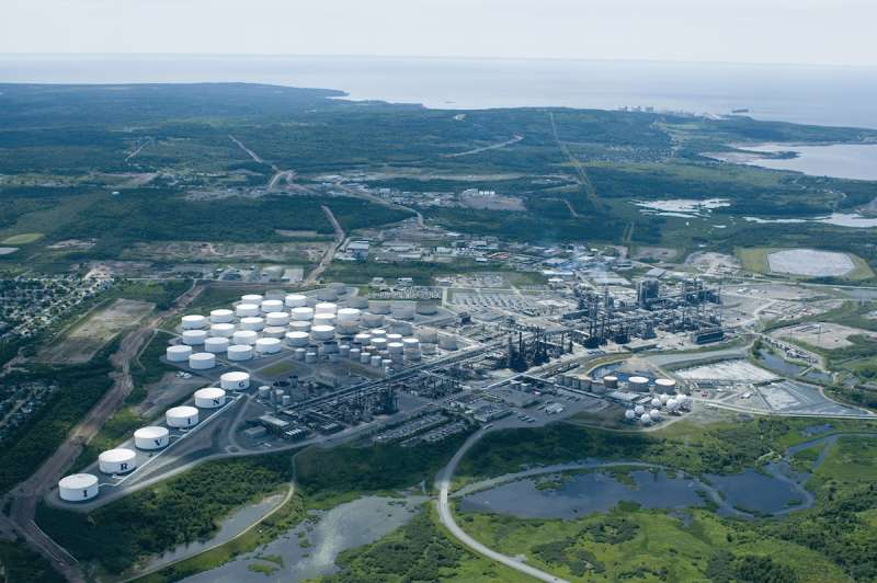 Irving Oil Refinery