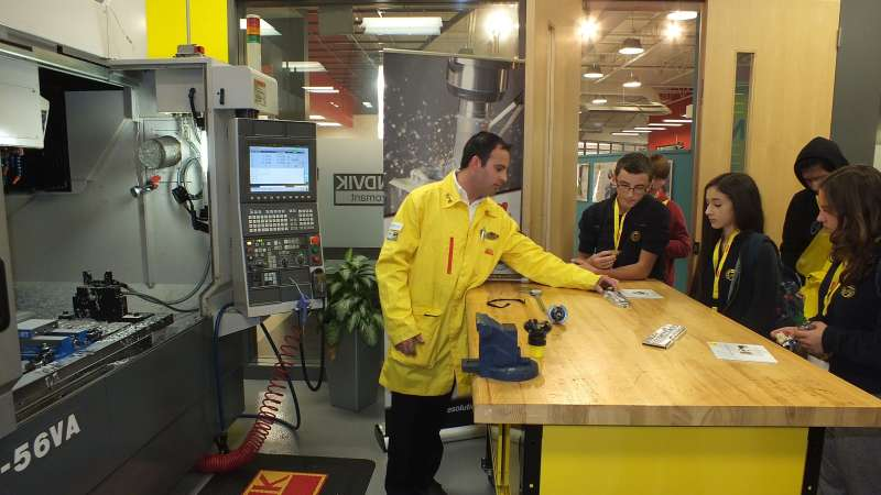 Sandvik Coromant's Manufacturing Day event in Mississauga, ON