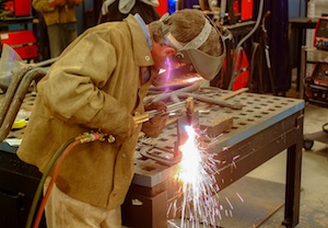 NS welding 041 skills training story
