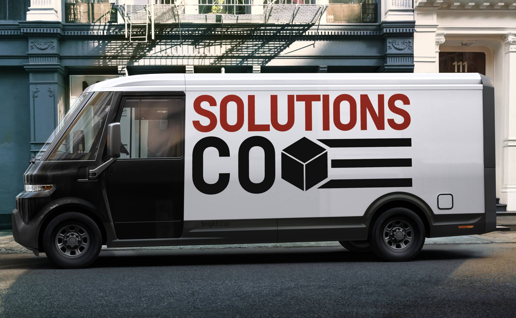 GM's BrightDrop EV600 battery-electric delivery van will start coming off the line at the CAMI manufacturing facility in late 2021