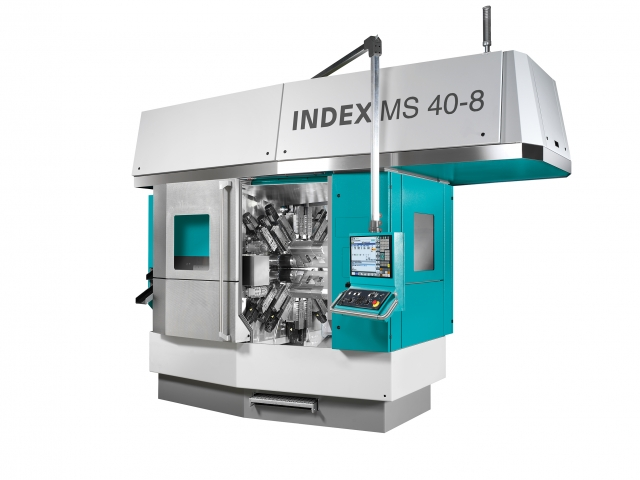 Index MS40-8 multispindle automatic lathe