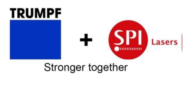 SPI Lasers UK Ltd. has been a wholly-owned subsidiary of the TRUMPF Group since 2008